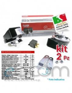 FIAMM-AM80-Kit-Tromba-2-morsetti-universale-2-Pezzi