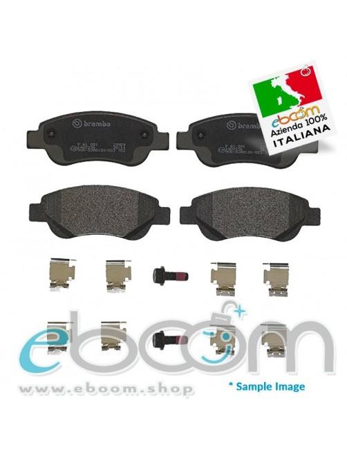 BREMBO-P61081-Pastiglia-Freno-Citroen-C1-05-14-Peugeot-107-05-P108-14-10-12-14Hdi-Toyota-Aygo-10-14Hdi-Front