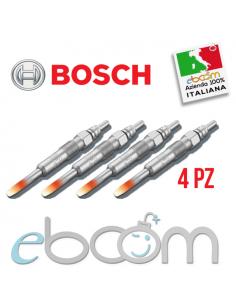 4X-BOSCH-0250201042-Candelette--Alfa-145-146-19Td-Xantia-Xsara-P207-P306-19D-Suzuki