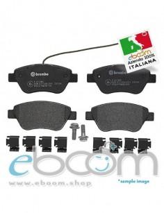 BREMBO-P23085-Pastiglia-Freno-Fiat-500-07-Stilo-01-G-Punto-05-Bravo-II-Lancia-Musa-Ant-178-1-spia