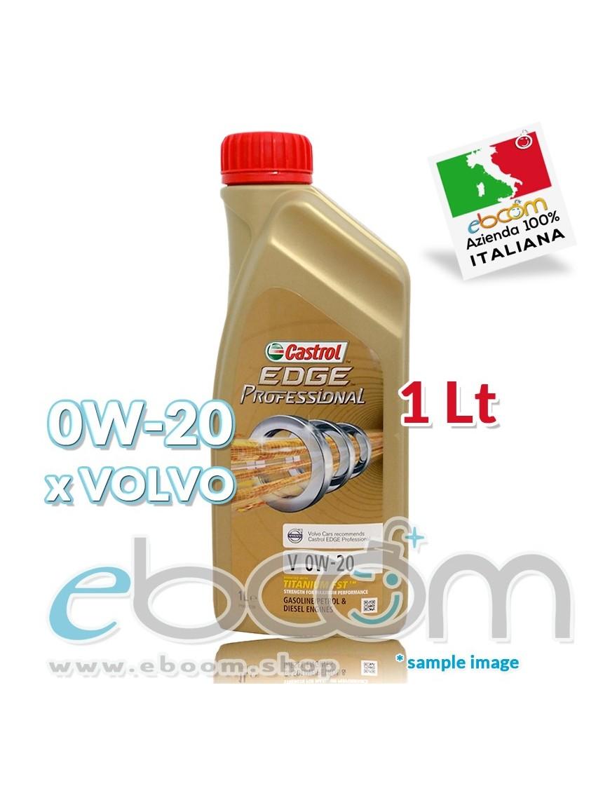 CASTROL-0W20-Olio-motore-Auto-EDGE-Professional-V-Titanium-SDS-x-motori-VOLVO-1-Litro