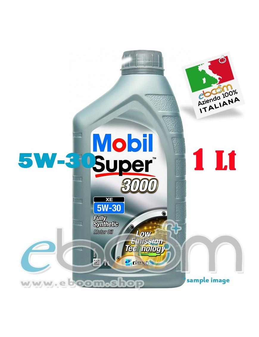 MOBIL-5W30-Olio-motore-Auto-XE-Super-3000-DEXOS-2-C3-1-Litro